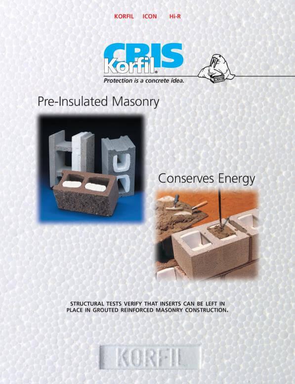 CBIS Insulated Masonry Brochure