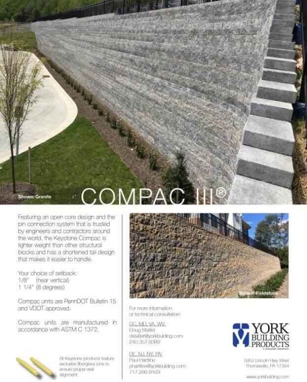 Compac III Cut Sheet