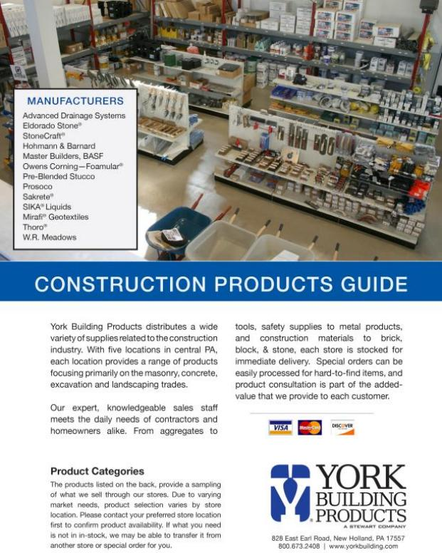 Construction Supplies Products