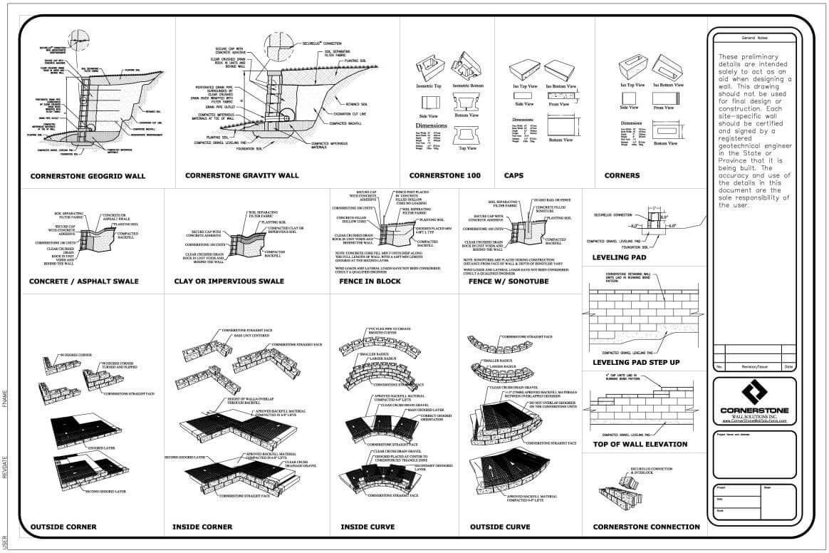 CornerStone Master Detail Sheet