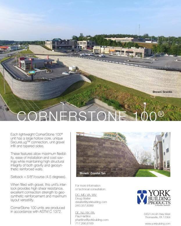 CornerStone100 Cut Sheet