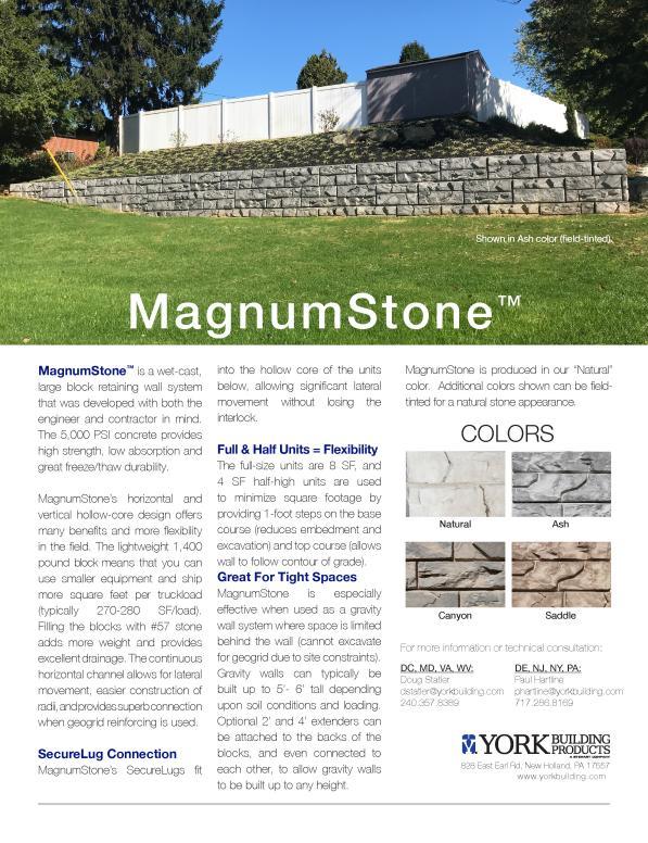 MagnumStone TDS
