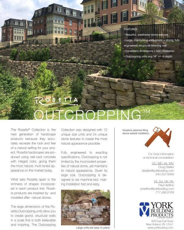 Outcropping Cut Sheet