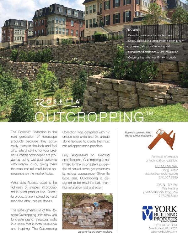 Outcropping TDS