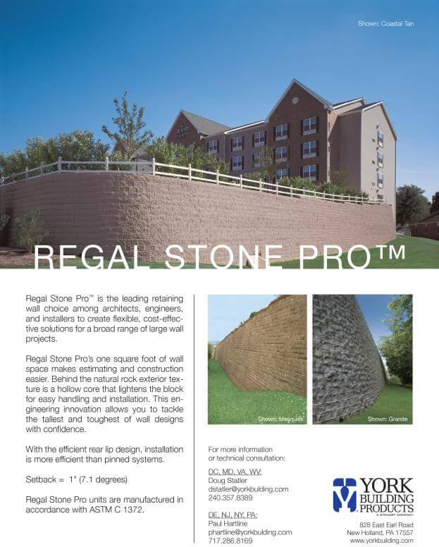 Regal Stone Pro Cut Sheet