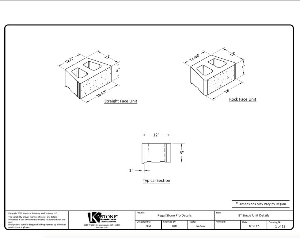 Regal Stone Pro Unit Details