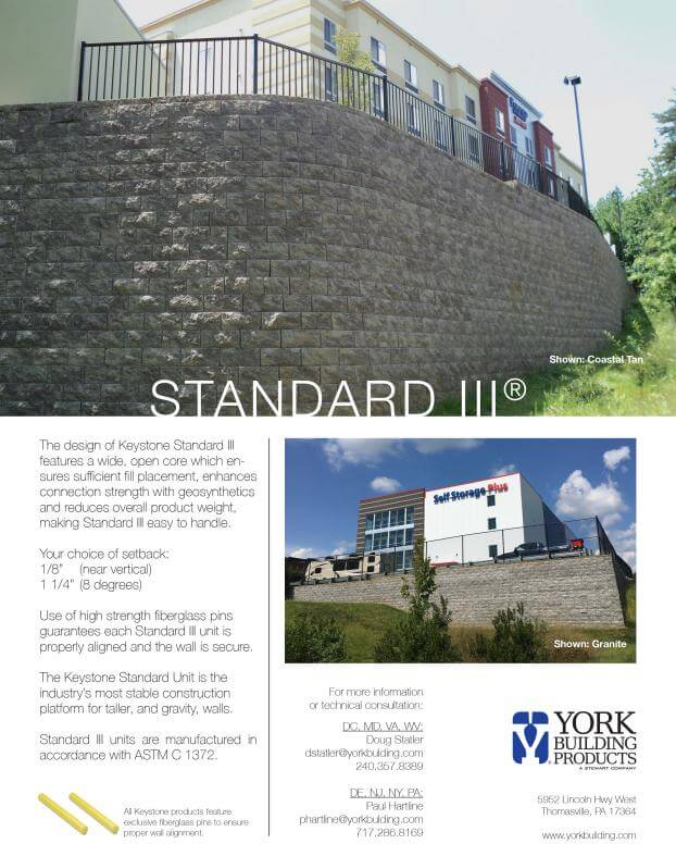 Standard III Cut Sheet