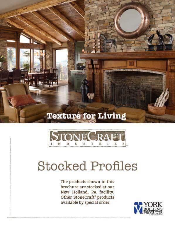 StoneCraft Stocked Profiles Brochure