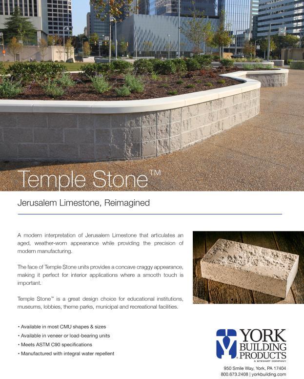 Temple Stone Cut Sheet