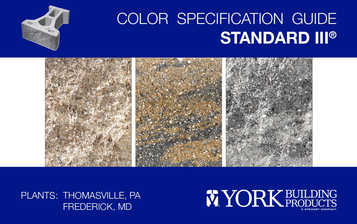 Standard III Color Guide