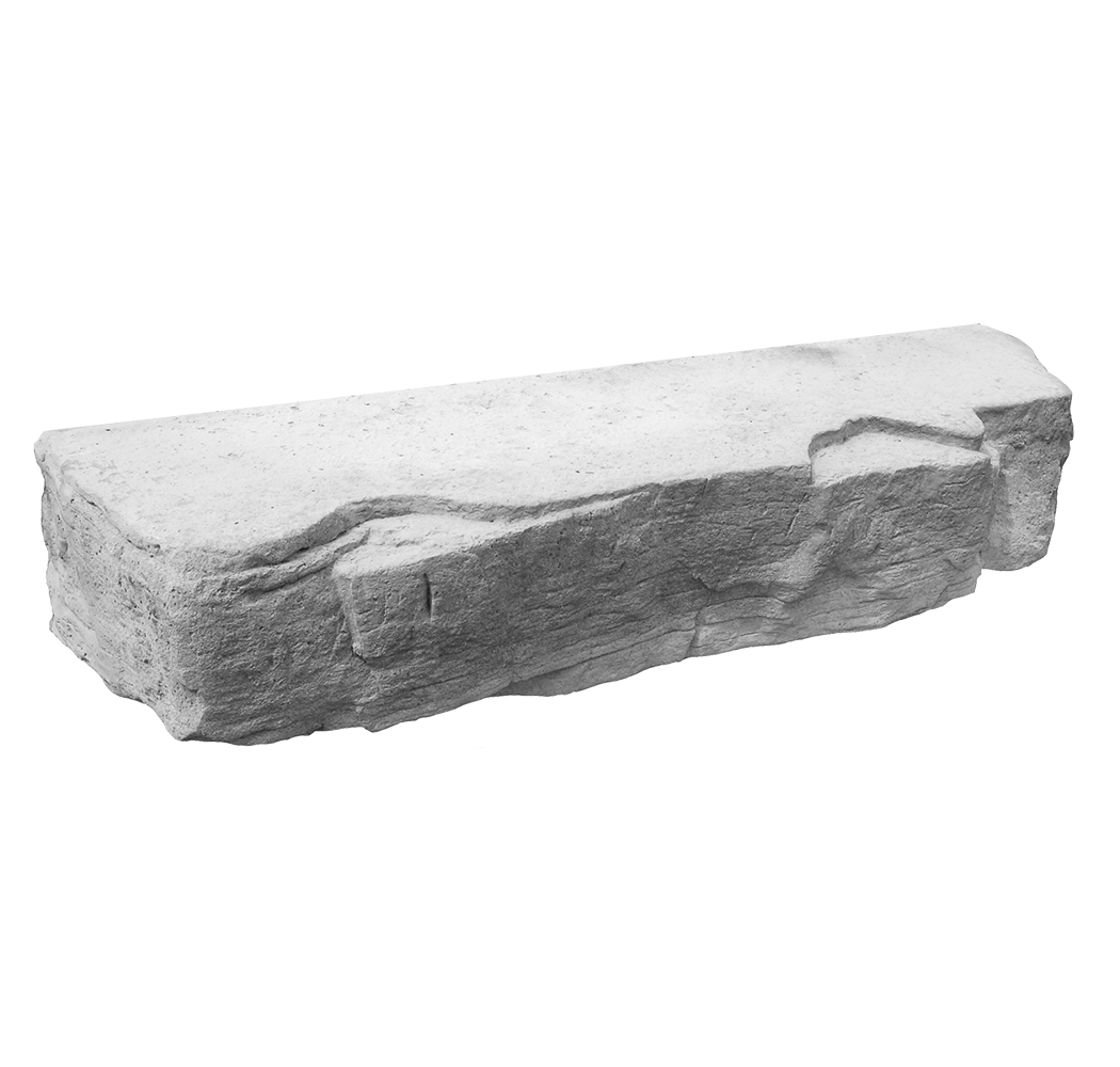 Outcropping 12x6-GRAY