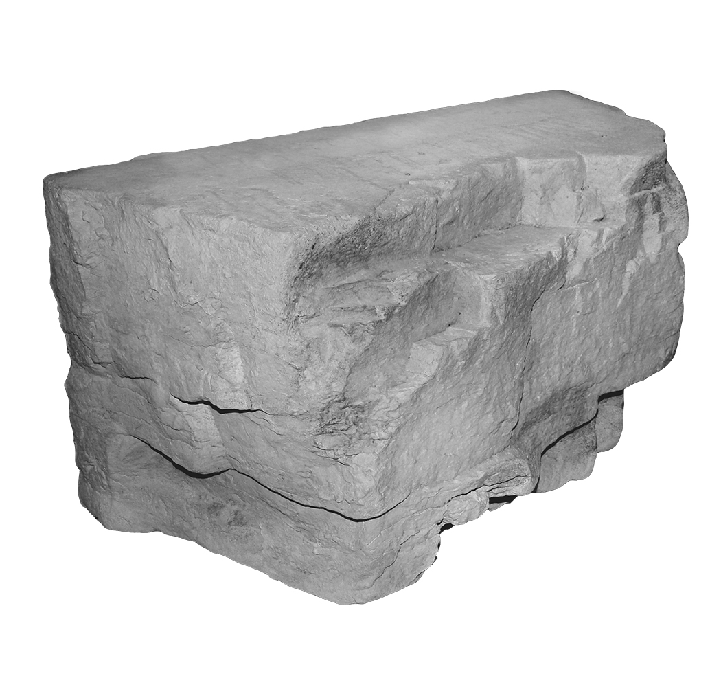 Outcropping 24x4-GRAY